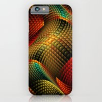 iPhone & iPod Case featuring Bed of Snakes by Liz Molnar