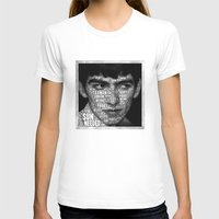 The Fab Four Songs - Geo… Womens Fitted Tee White SMALL