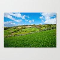 Molise landscape Canvas Print