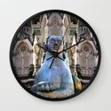 Sphinx Photo Montage: Girl Wall Clock