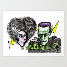 Be my Valentein?  Art Print