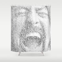 Dave Grohl. Everlong. Shower Curtain