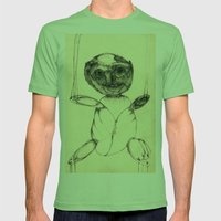 Teddy Bear Mens Fitted Tee Grass SMALL