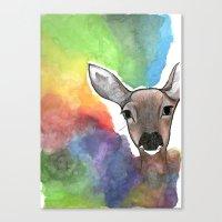 Deer Dream Canvas Print