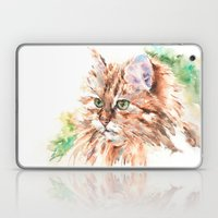 Suki ... Tabby Cat Laptop & iPad Skin