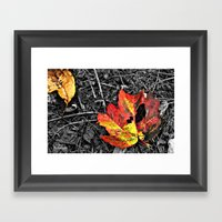 Color Pallette Framed Art Print