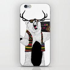 boom boom bear iPhone & iPod Skin