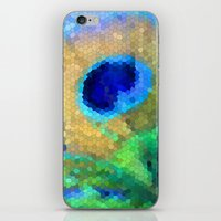 Abstract Peacock iPhone & iPod Skin