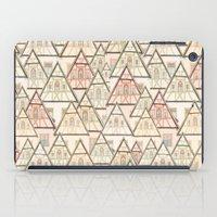 Pattern Houses iPad Case