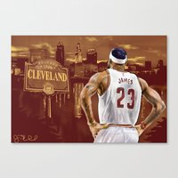 LeBron, The Return Canvas Print