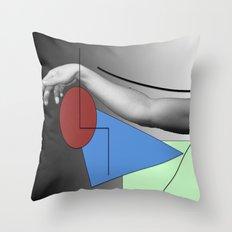 Arm-ed Throw Pillow