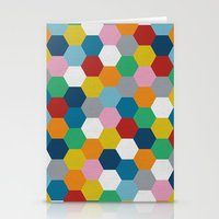 Honeycomb 2 Stationery Cards