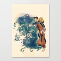 Hey, little one Canvas Print