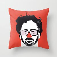Timothy Walter Burton Throw Pillow