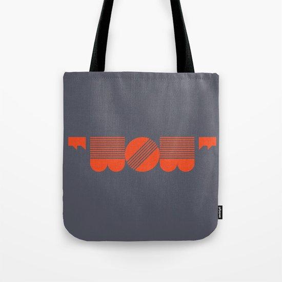 """WOW"" Tote Bag"