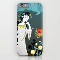 iPhone & iPod Case featuring Snowhite and the Evil Witch by AnaMF
