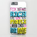 Fox News: Rich People, Poor People iPhone & iPod Case