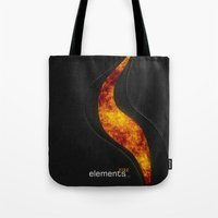 elements | fire Tote Bag