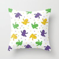 Who got the baby?? Throw Pillow