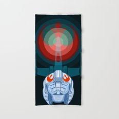 Red leader standing by Hand & Bath Towel