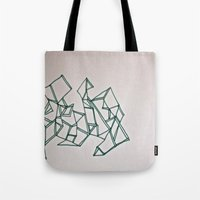 Crossing Over Tote Bag