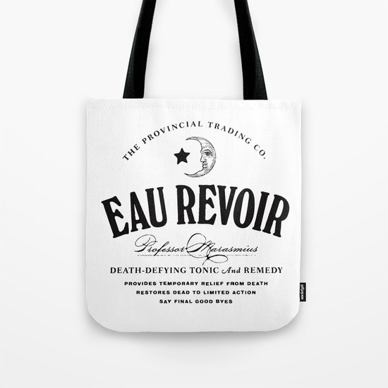 Eau Revoir Tote Bag