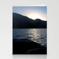 Fallen Leaf Lake At Suns… Stationery Cards