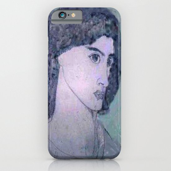 JANE BURDEN STUDY iPhone & iPod Case