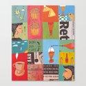 Good mor coffee Canvas Print