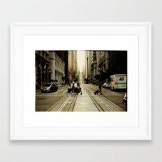 San Francisco Hills 2 Framed Art Print