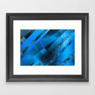 Free Floating Pattern (b… Framed Art Print