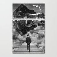 Black & White Collection -- Wandering Canvas Print