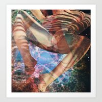I Touch Myself Art Print