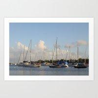 Marina III Art Print