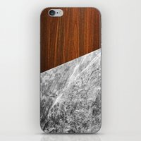 Wooden Marble iPhone & iPod Skin