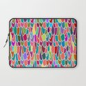 feather grid Laptop Sleeve
