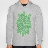Emerald Flower Hoody