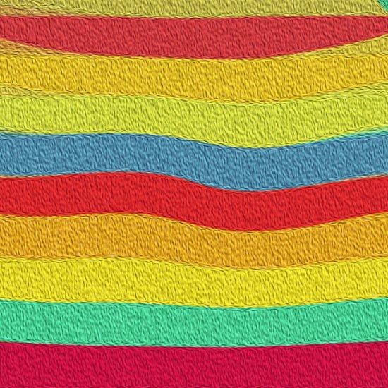 Bright Color Lineup Art Print