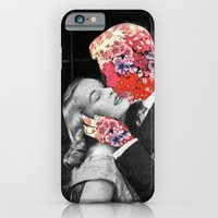 iPhone Cases featuring Bloomy Kiss by Eugenia Loli