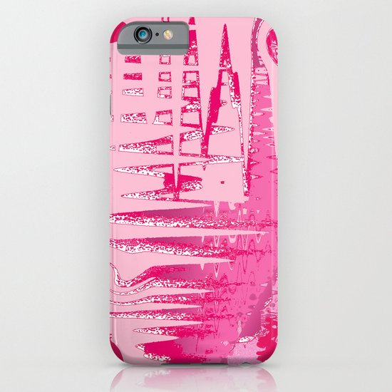 Purple Forest by the Lake iPhone & iPod Case