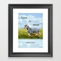 Horseshow Framed Art Print