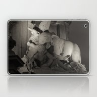 Laptop & iPad Skin featuring Statue équestre De Jose… by Sébastien BOUVIER