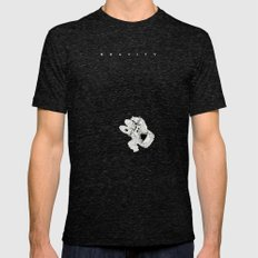 G. Mens Fitted Tee Tri-Black SMALL