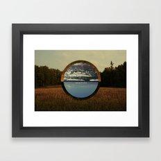 w/e Framed Art Print