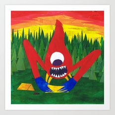 Nothing Like Camping... Art Print