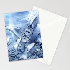 Mystique Blue Stationery Cards