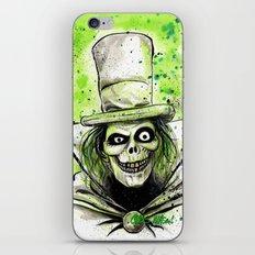 Hat Box Ghost iPhone & iPod Skin
