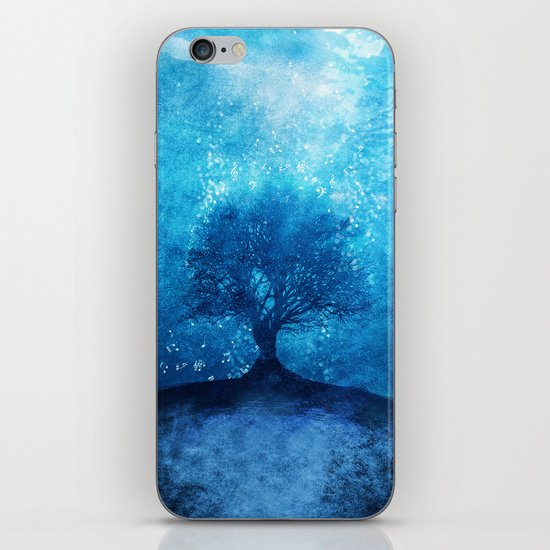 Songs from the sea. iPhone & iPod Skin