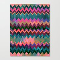 Lido West Chevron Canvas Print