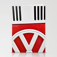 vw Stationery Cards featuring VW by Jamie Klock